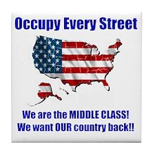 usoccupy1 Tile Coaster