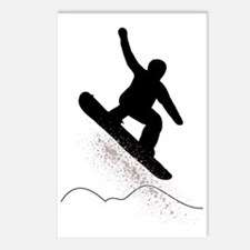 Snowboarder Postcards (Package of 8)