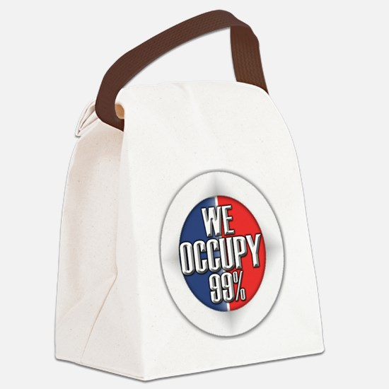 WEOCCUPY99 Canvas Lunch Bag