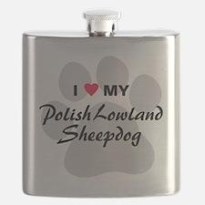 Polish-Lowland-Sheepdog Flask