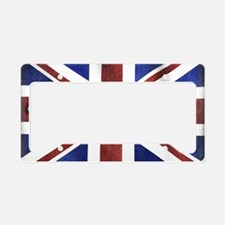 Great Britain Union Jack License Plate Holder
