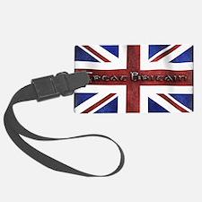 Great Britain Union Jack Luggage Tag