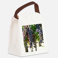 DHPurpGrapes3_11X14 Canvas Lunch Bag