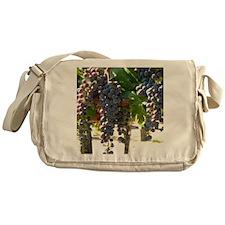DHPurpGrapes3_11X14 Messenger Bag