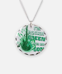 Im Rockin Green for my Son Necklace