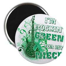 Im Rockin Green for my Niece Magnet