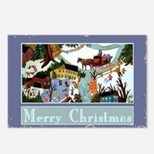 merrychristmaswinterwonde Postcards (Package of 8)