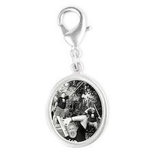 pinatabees-shirtHD Silver Oval Charm