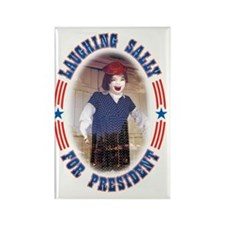 Laughing Sally For President Rectangle Magnet