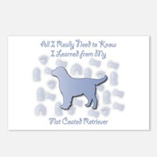 Learned Retriever Postcards (Package of 8)