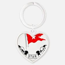whitestarline200-2 Heart Keychain