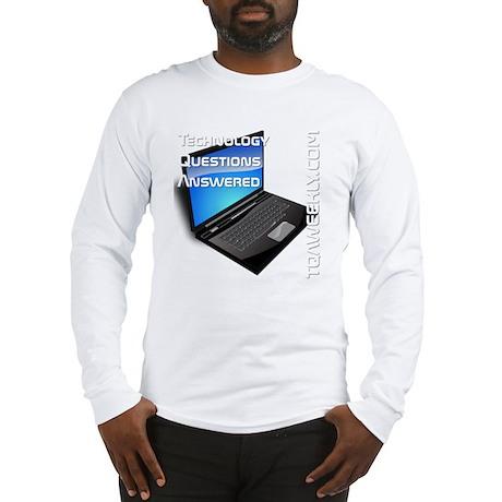 tqa-weekly-merch-transparent Long Sleeve T-Shirt