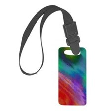 Abstract Rainbow Luggage Tag