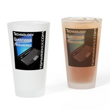 tqa-weekly-laptop-black Drinking Glass