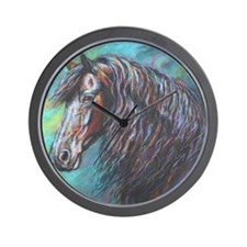 Zelvius painting by Janet Ferraro. Copy Wall Clock