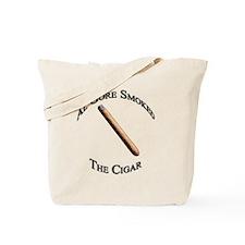 Cigar solo onWhite Tote Bag