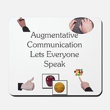Augmentative Communication Mousepad