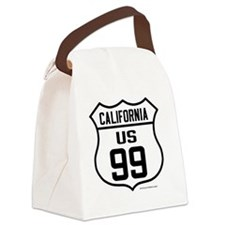 US Route 99 - California Canvas Lunch Bag