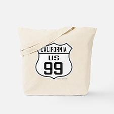 US Route 99 - California Tote Bag