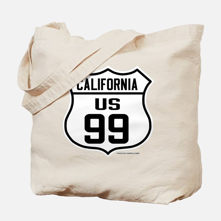 US Route 99 - California Tote Bag