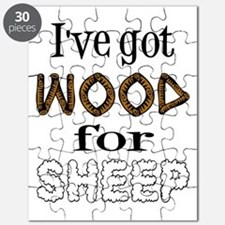 Wood for Sheep (text) Puzzle