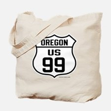 US Route 99 - Oregon Tote Bag