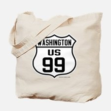 US Route  99 - Washington Tote Bag