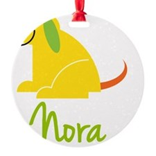 Nora-loves-puppies Round Ornament