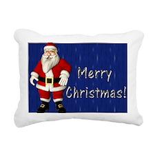 toonsantasilver Rectangular Canvas Pillow