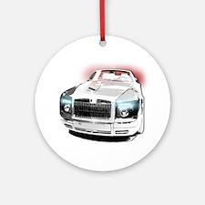 Rolls Phantom Round Ornament