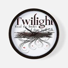 read twilight Wall Clock