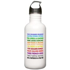 12 days of xmas Water Bottle