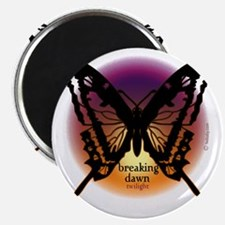 breaking dawn black butterfly by twibaby3 c Magnet