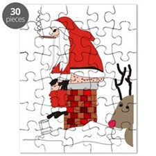 santa drawing gails Puzzle
