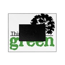 think-green-wht Picture Frame
