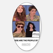 These Are The People of... Decal