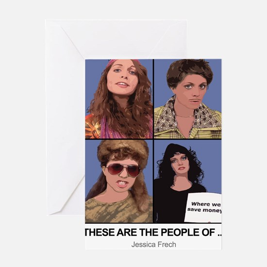 These Are The People of... Greeting Card