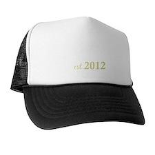 daddy est 2012_dark Trucker Hat