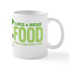 RawFood_design_dark_bgd copy Mug