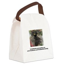 Cool Freida%2c the throw away kitty Canvas Lunch Bag
