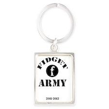 fidget-army Portrait Keychain