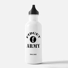 fidget-army Water Bottle