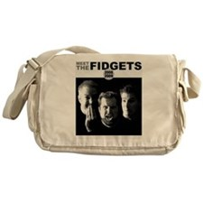meetthefidgets-shirtHD Messenger Bag