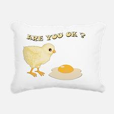 are you o-k2 Rectangular Canvas Pillow