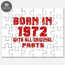 Born In 1972 With All Original Parts Puzzle