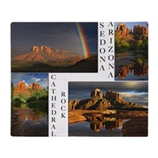 CATHEDRAL_CALENDAR_11.5x9_print Throw Blanket