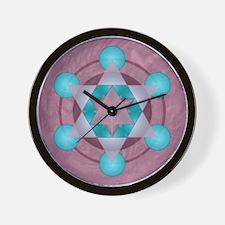 Merkaba_lrg_bleed Wall Clock