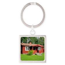 2011 Sweden 471 Square Keychain