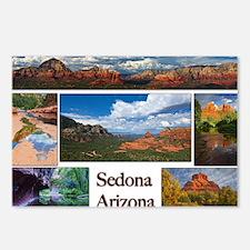 Sedona_CALENDAR_11.5x9_pr Postcards (Package of 8)