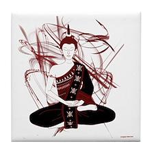 buddharosso Tile Coaster